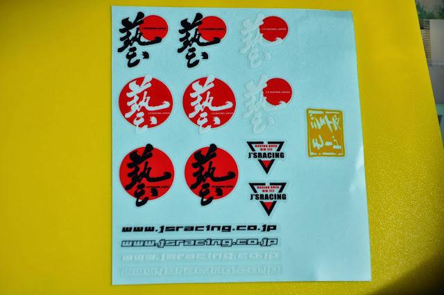 js racing decal vinyl - js racing japan