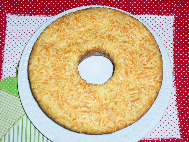 melhor bolo de pão de queijo