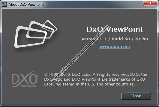 DxO ViewPoint 1.1 Build 50 (x86/x64)