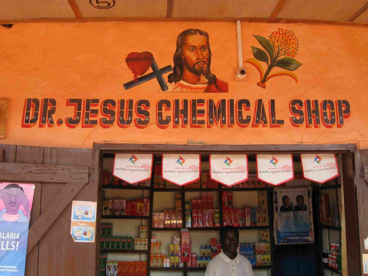Dr. Jesus Chemical Shop
