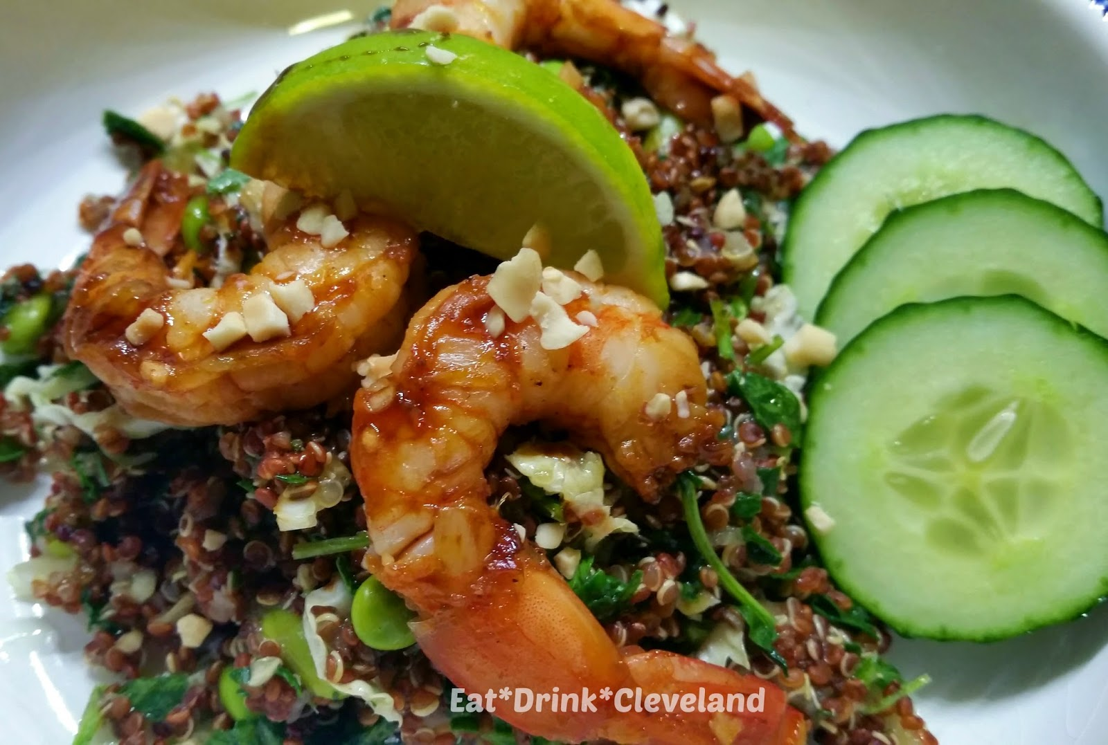 ... Drink*Cleveland: Sweet & Spicy Roasted Shrimp with Asian Quinoa Salad