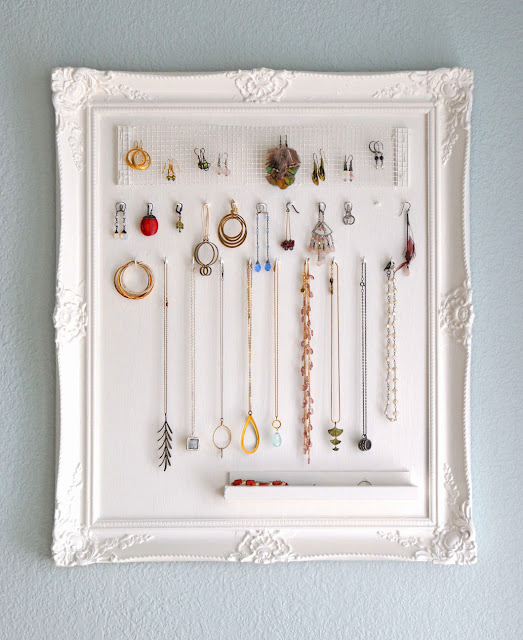 framed bulletin board for jewelry