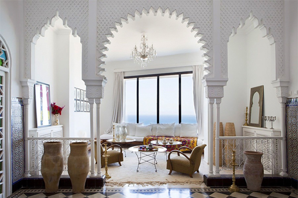 The Beautiful Colors of the Moroccan House – 79 ideas