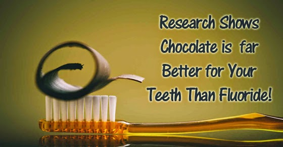 Chocolate Better for Your Teeth Than Fluoride