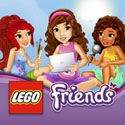 LEGO Friends Story Maker App App iTunes App Icon Logo By The LEGO Group - FreeApps.ws