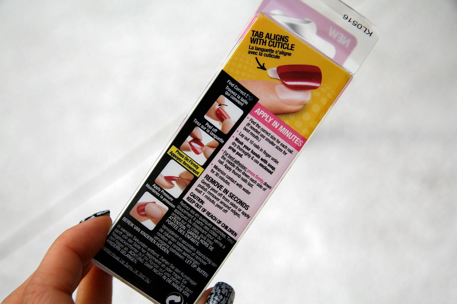 fun size beauty: Broadway Nails imPress Press-On Manicure in Working ...