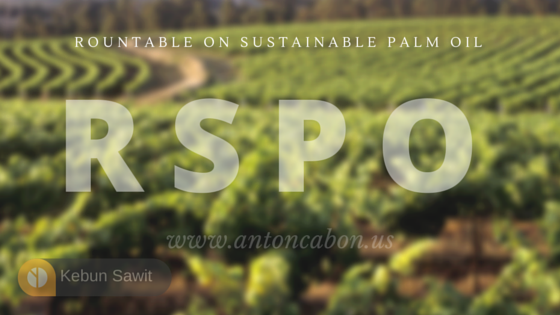 Rountable On Sustainable Palm Oil