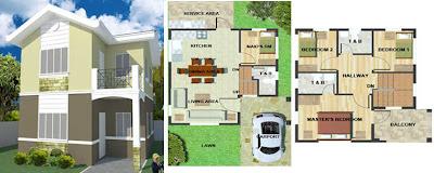 Callia Unit Two Storey Single Detached House and Lot for Sale Marigondon Mactan Cebu 4BR
