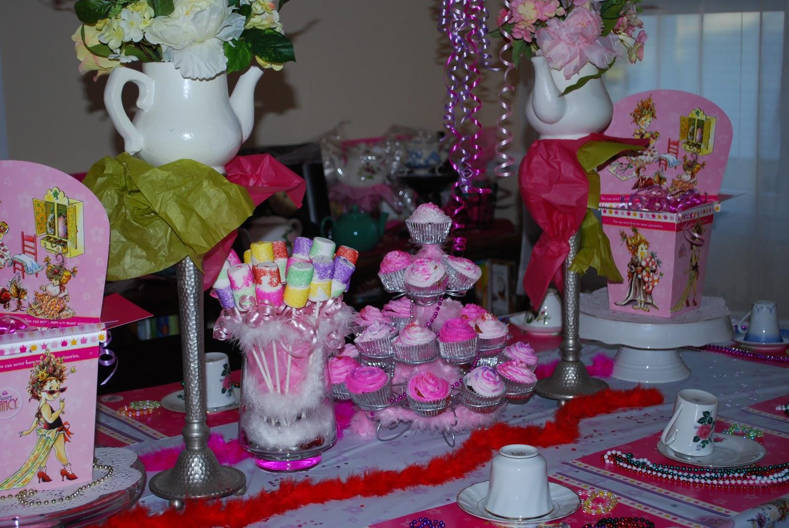 delightful endeavors fancy nancy birthday