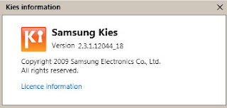 Once Dowloaded, install Samsung kies. After Installing kies, please connect your mobile phone to your PC and launch kies.