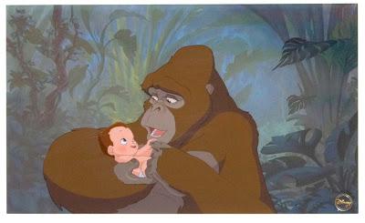 Kala Tarzan Tarzan 1999 animatedfilmreviews.blogpspot.com