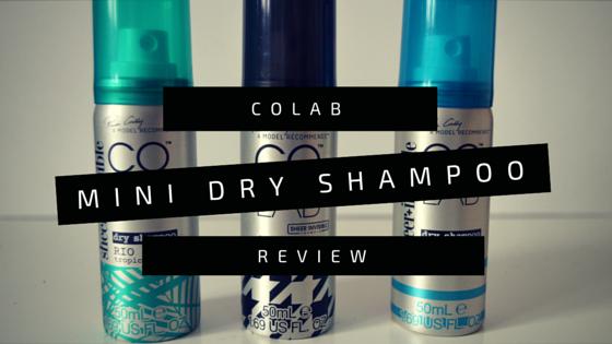 COLAB Mini Dry Shampoo Review