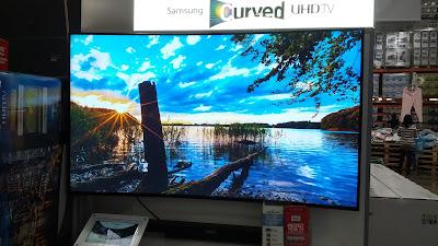 Samsung UN65HU7200 Curved HDTV