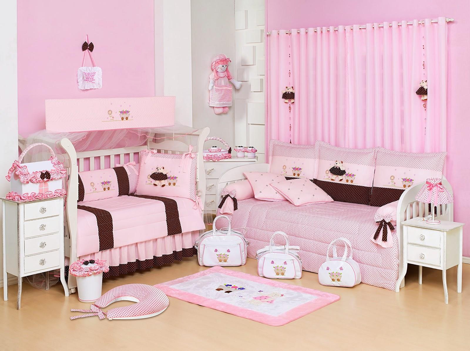 Rosa e marrom Veja opções para decorar o quarto de  ~ Quarto Rosa Com Marrom