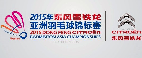Hasil Badminton Asia Championships, 22 April 2015