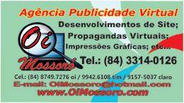 Oi Mossoró - Agência Publicidades Propagandas Virtuais e Gráfica em Geral