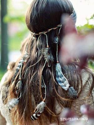 peinados 2015 boho naturales