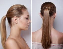 Penteados simples e sofisticados-rabo de cavalo