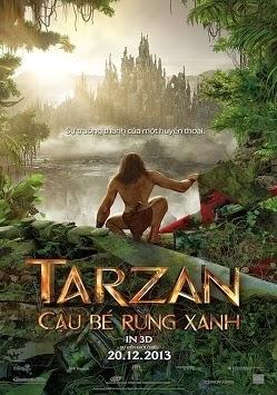 Xem phim Tarzan Cậu Bé Rừng Xanh