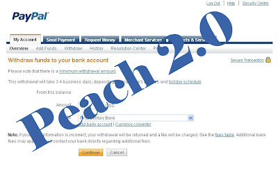 Paypal Withdraw Funds