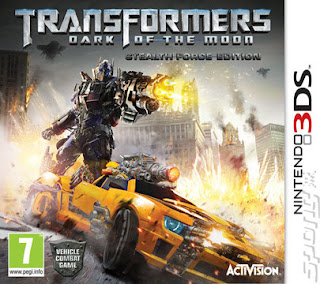 Ma 3DS: Transformers 3 : disponible aujourd'hui
