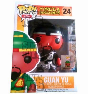 Funko Pop! Asia Guan Yu PLATA/NEGRO