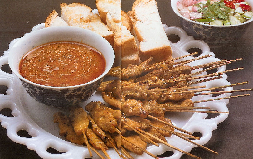 Recipe is Likened...: Thai Chicken Satay