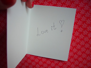 love it postcard