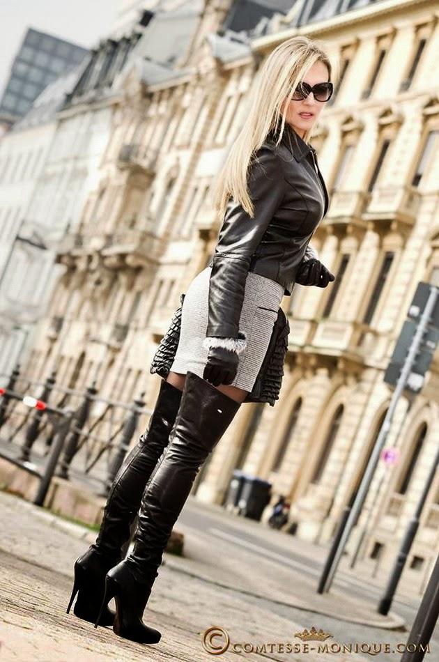 Moda en botas de mujer