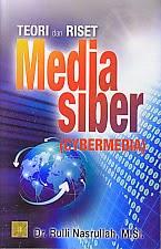 toko buku rahma: buku TEORI DAN RISET MEDIA SIBER , pengarang ruli nasrullah, penerbit kencana