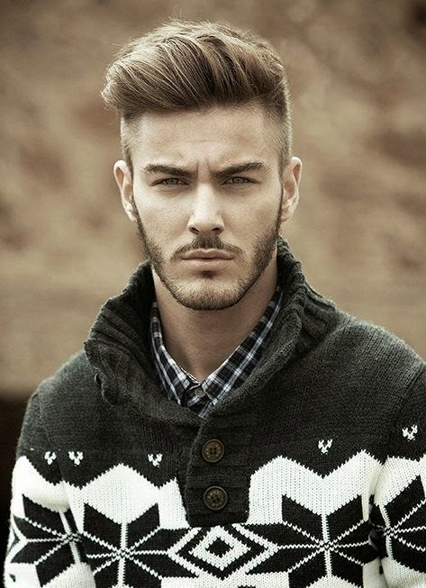 nice and short hairstyle for men 2015