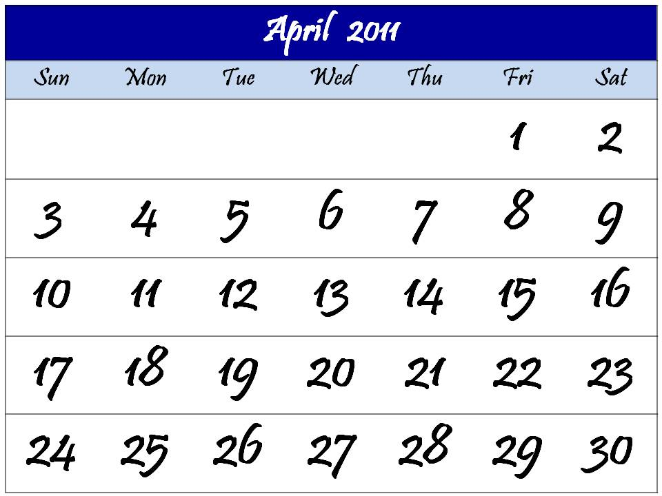 april 2011 calendar printable with. 2011 calendars printable.