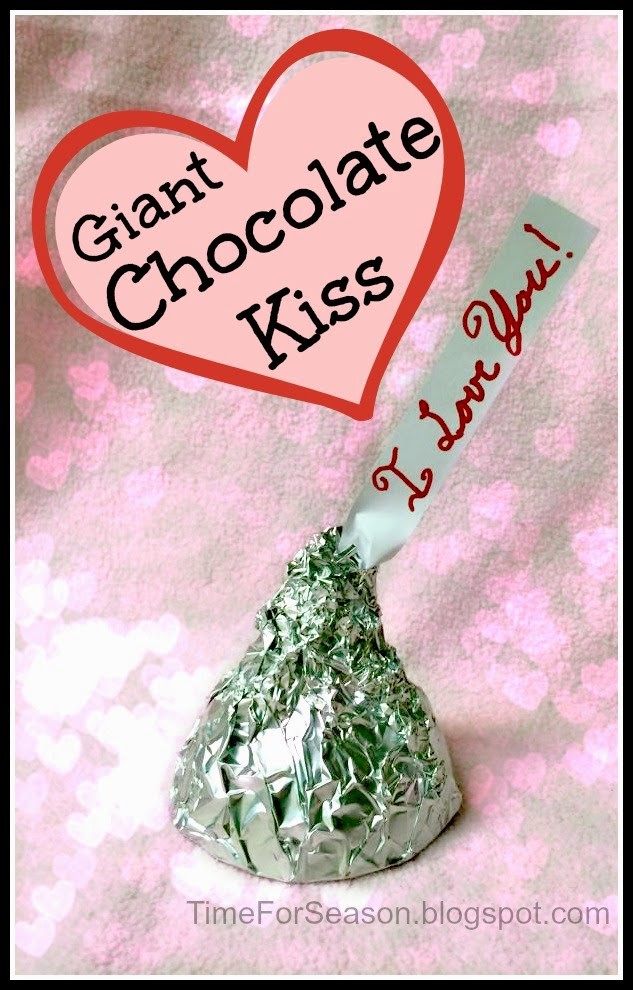 http://timeforseason.blogspot.com/2015/02/huge-giant-hershey-kiss-recipe.html