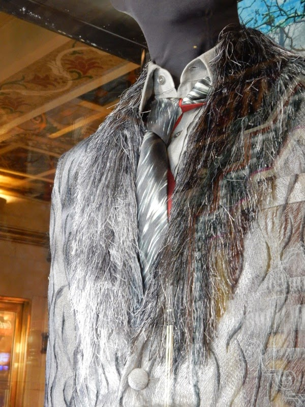 Wolf Into the Woods costume detail