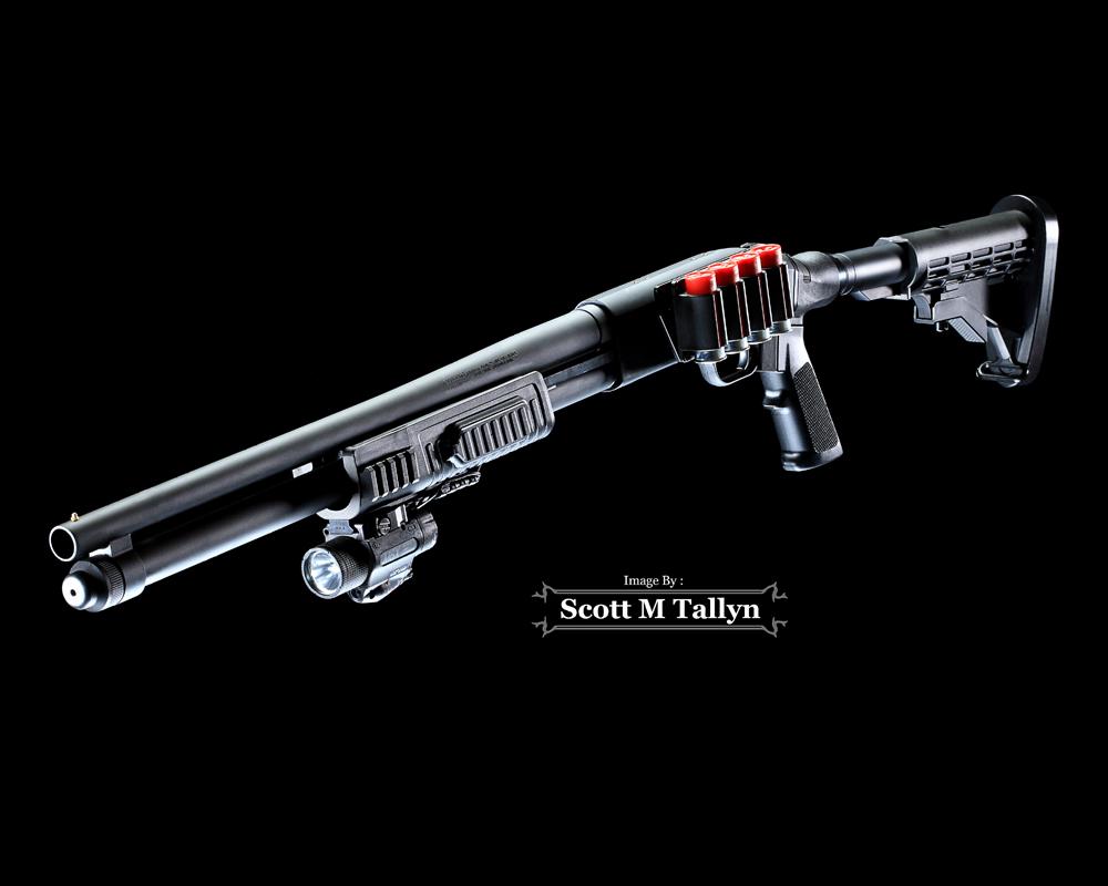GunShots Photography: Mossberg 590 FLEX Tactical Shotgun