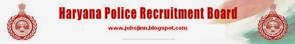 Haryana Police Recruitment for Constable Posts Apply online 2014
