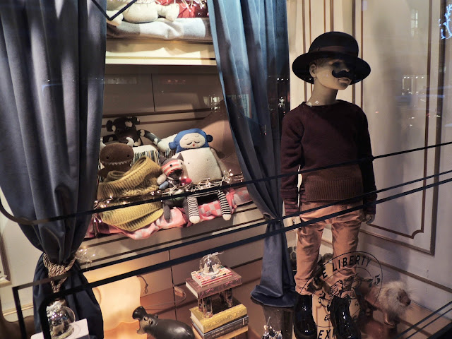 Liberty Christmas Visual Merchandising - Childrenswear