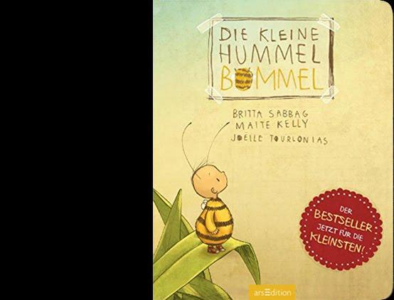 Die kleine Hummel Bommel / Pappe