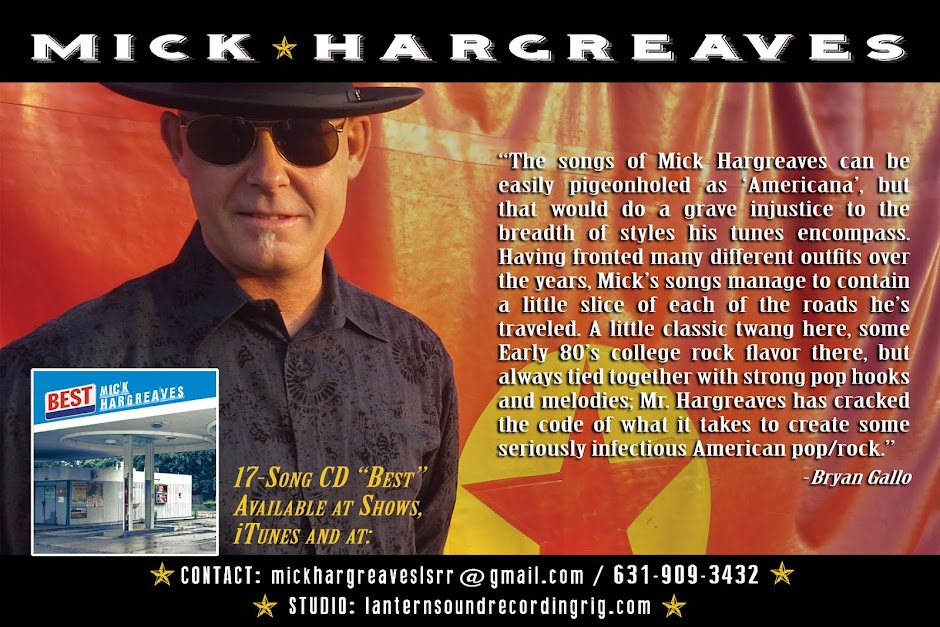 Mick Hargreaves | Official Site