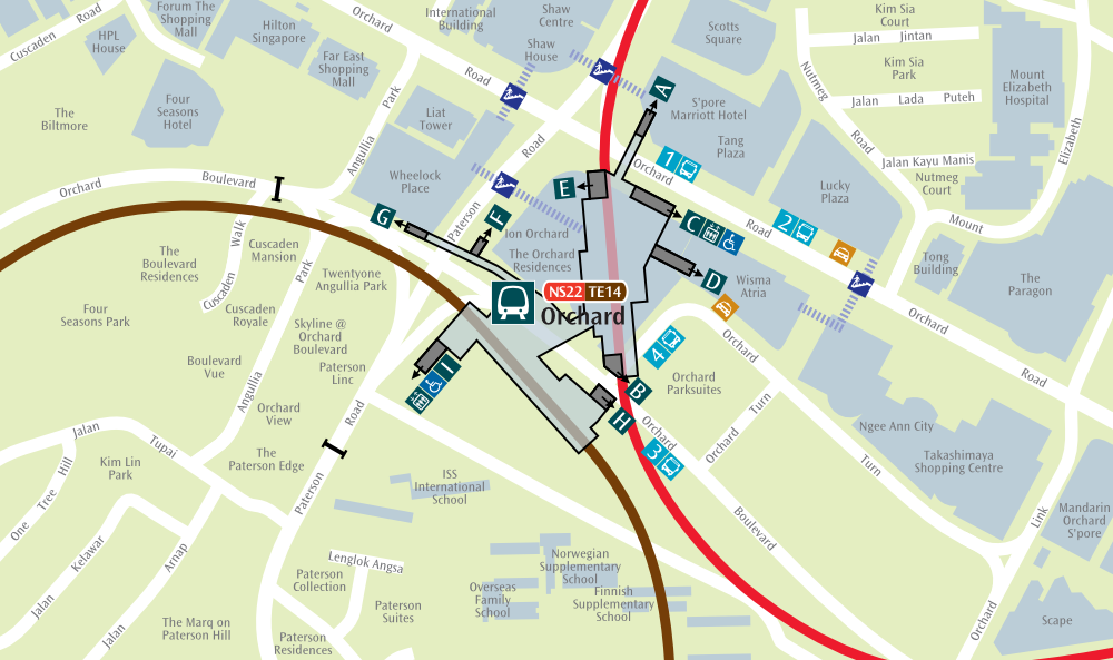Singapura Station: Thomson-East Coast Line Stage 3 Maps