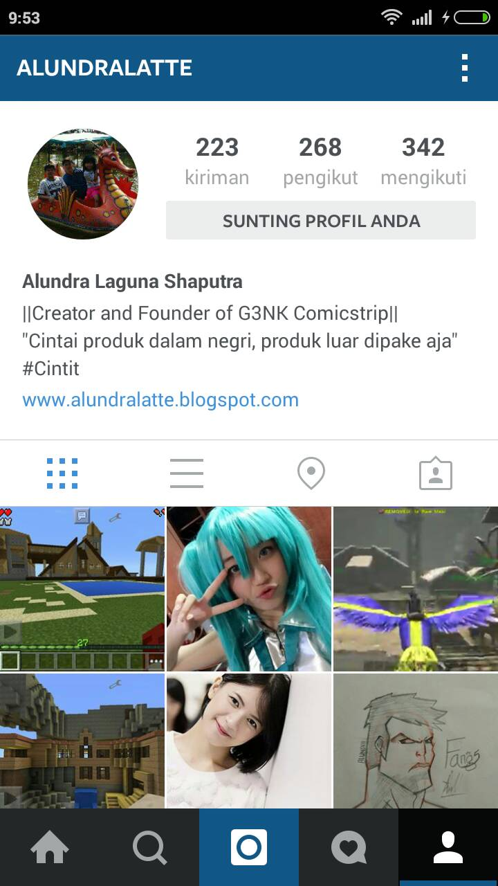 Gambar Unik Untuk Profil Instagram Instakolek