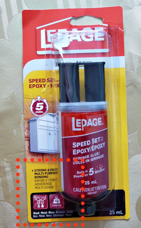 LePage 2 Part Epoxy