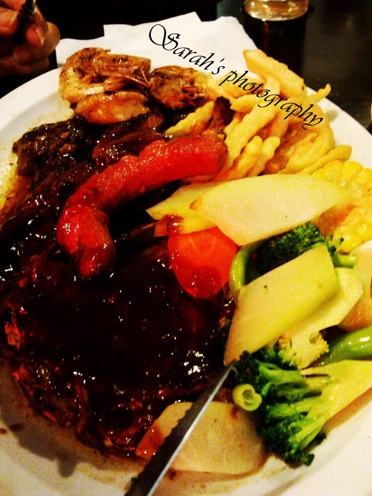 Sizzling Chicken Chop