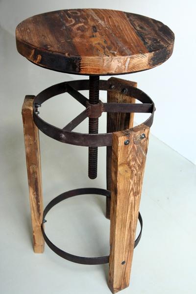 Reutilize madeira e ferro