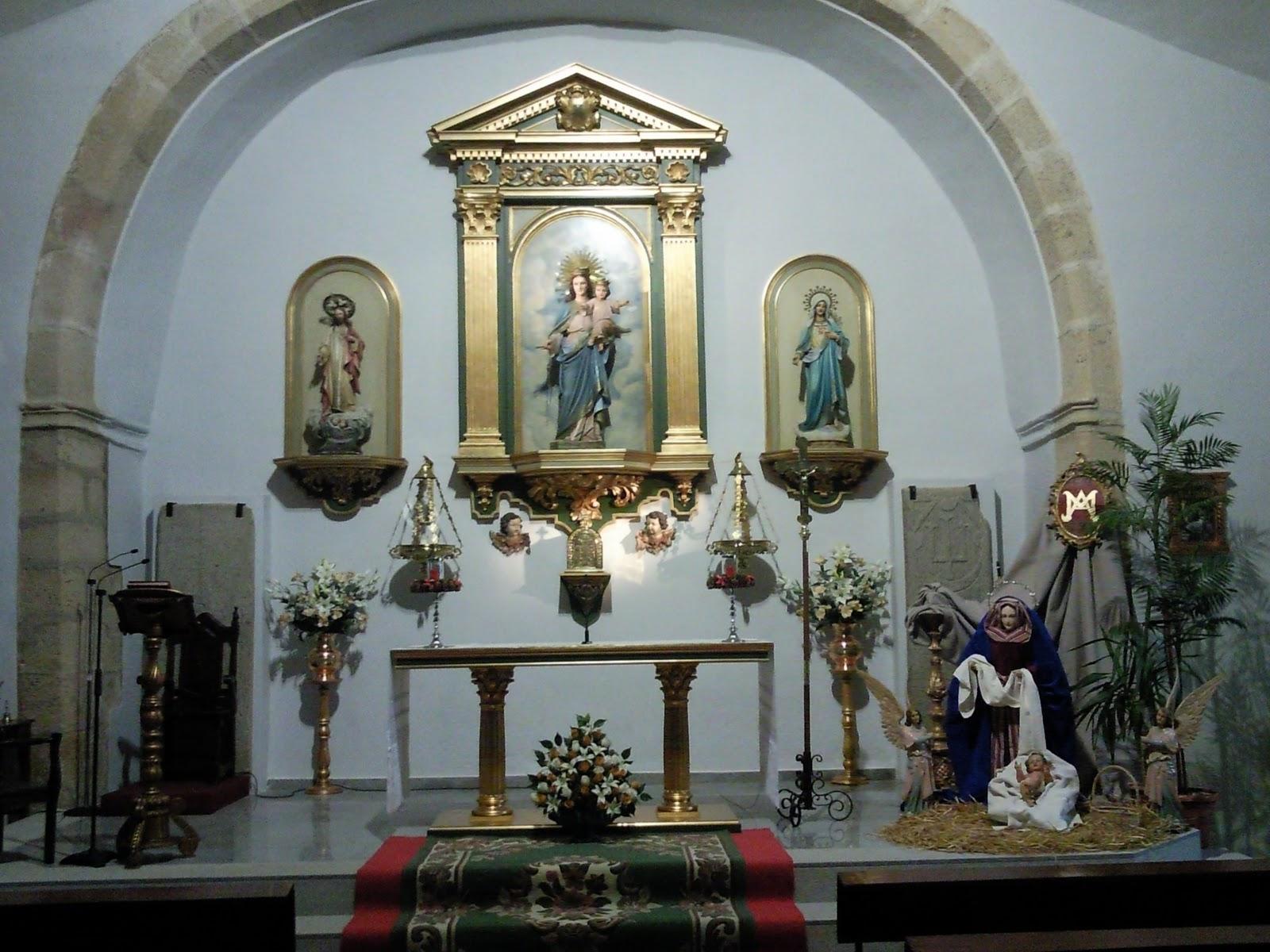 Decoracion De Altar De Virgen De Urkupi?a ~   de los angeles de rena y abajo decoraci?n del altar mayor de la misma