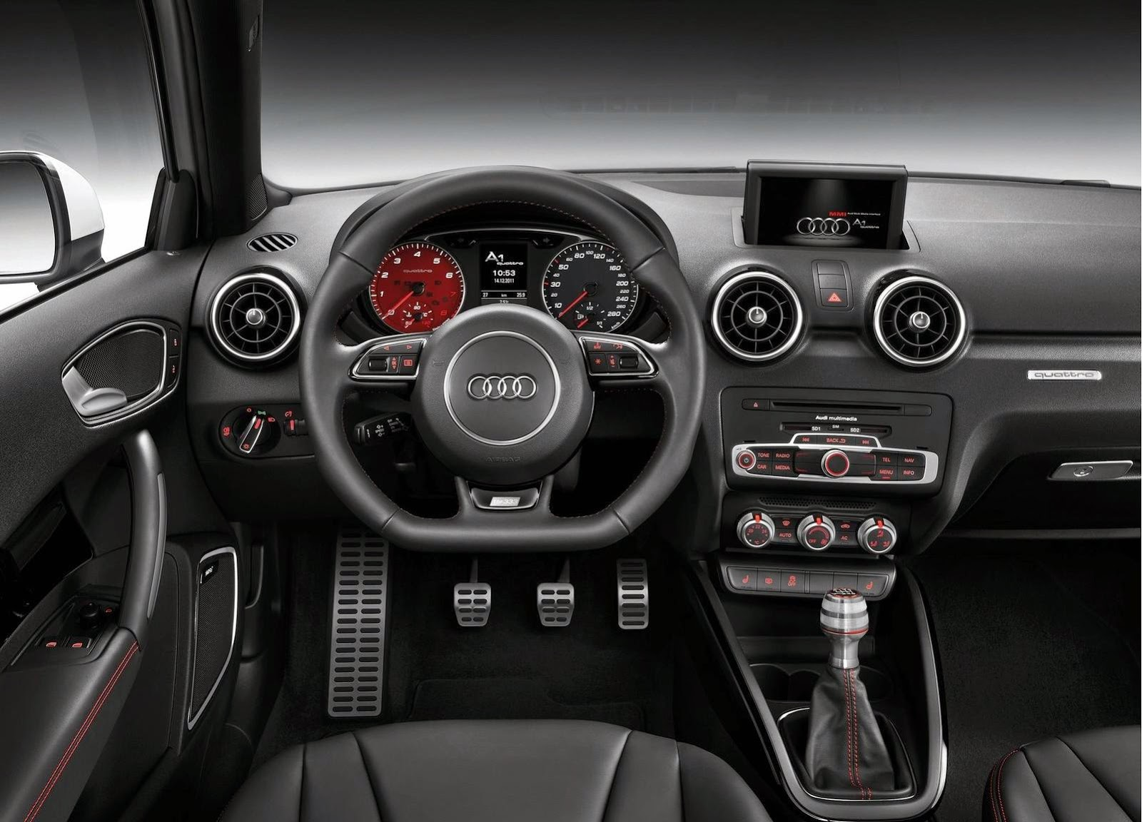 Audi A1 quattro 2013 Widescreen Wallpaper
