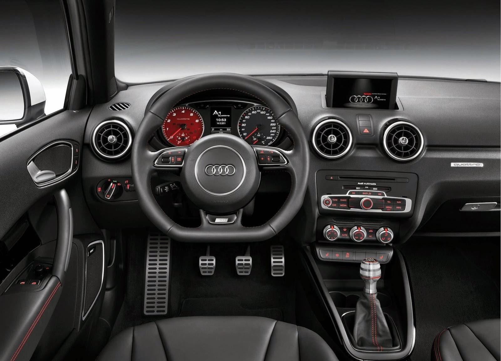 Audi A1 quattro 2013 Widescreen Wallpaper