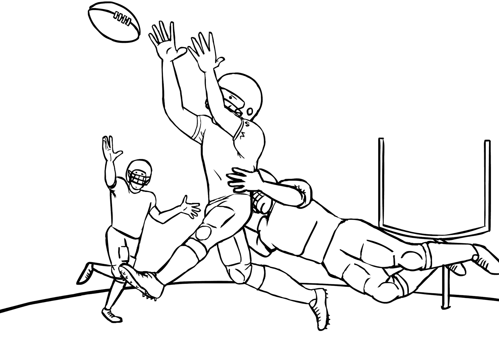 coloring pages football coloring pages free and printable