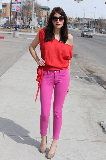 3 Ways To Style Pink Converse www.modelvale.com #