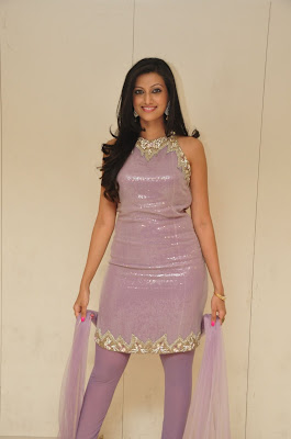 Indian Dancer Hamsa Nandhini in Sleeveless Dress
